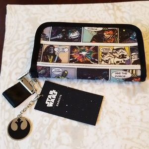 Disney Star Wars Comic Harvey Wallet